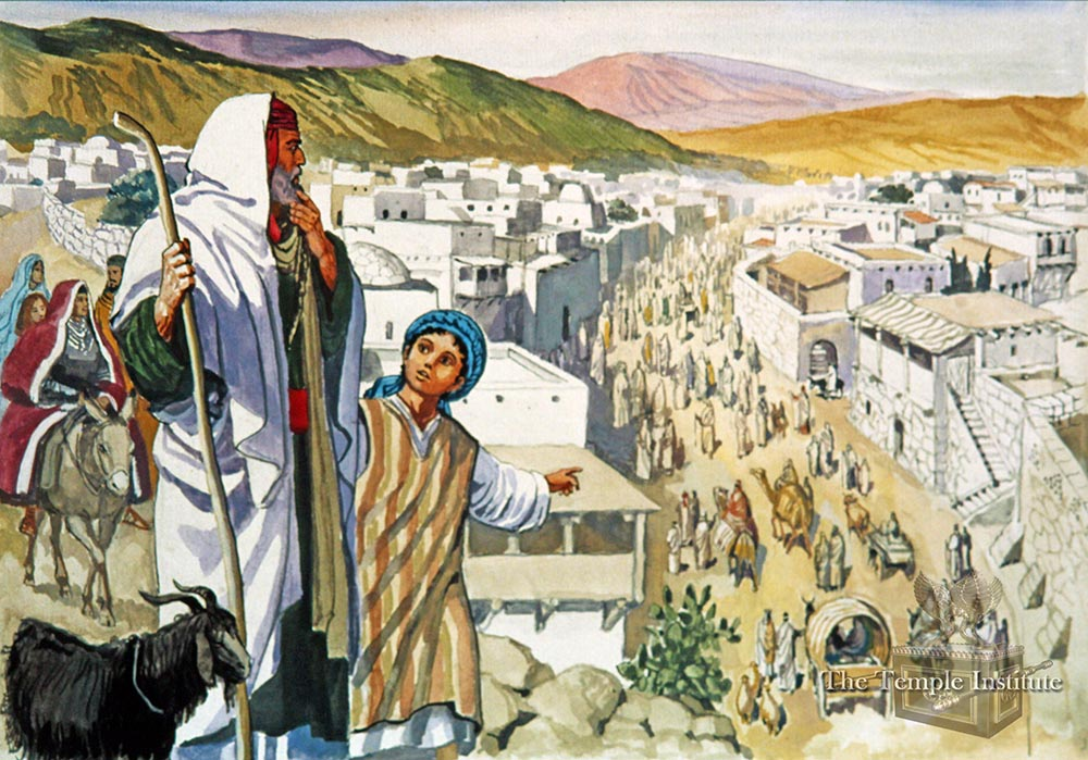 On the road to Jerusalem
