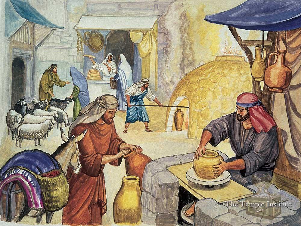 Making pure vessels