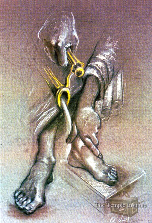 Sanctifying Hands & Feet