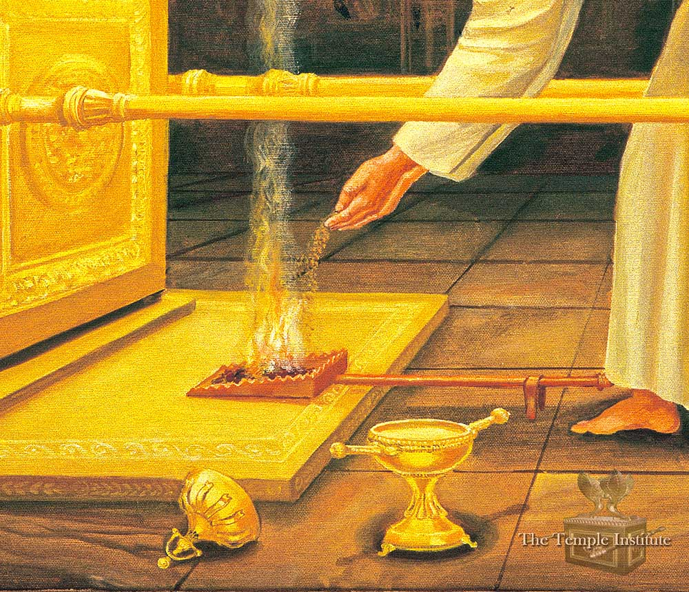 Placing Incense on the Coals