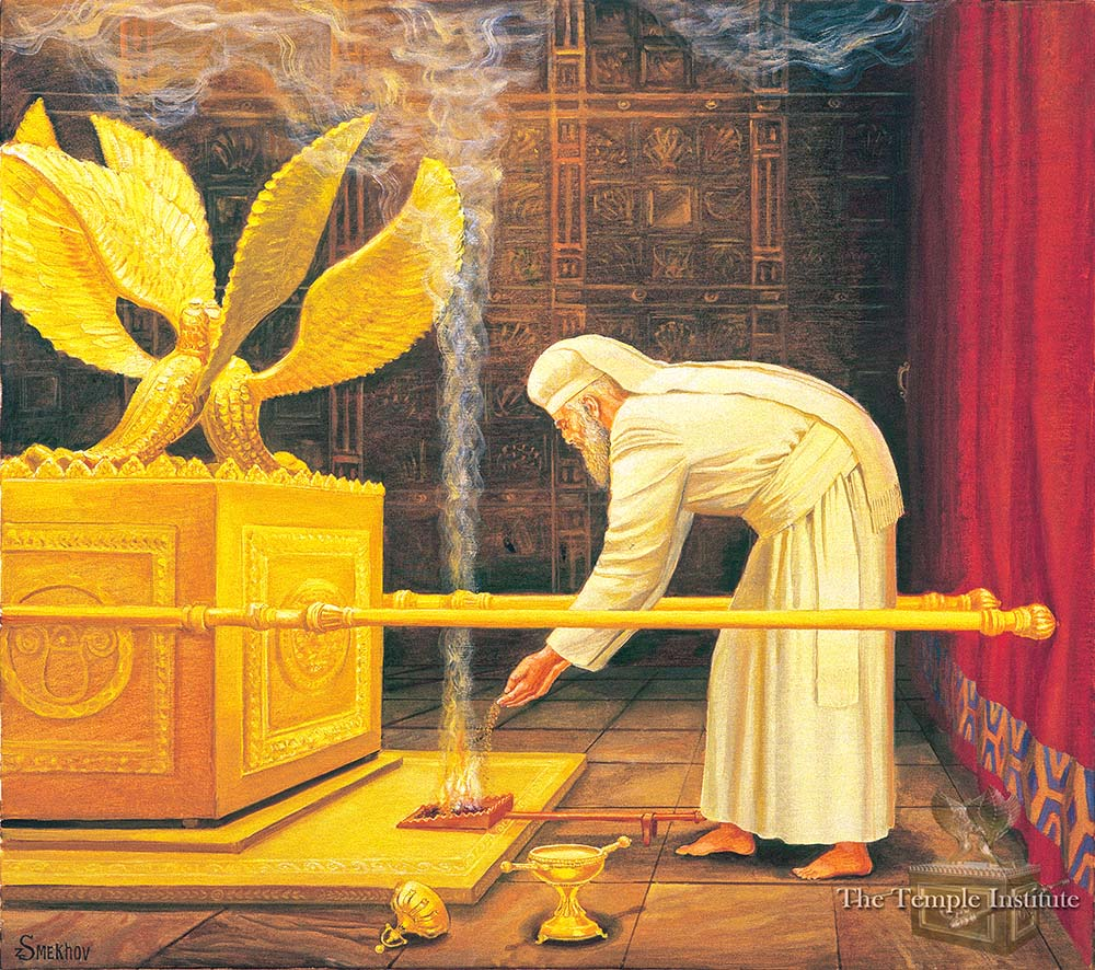 Placing the Incense